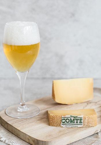 Comté & Bière à triple fermentation