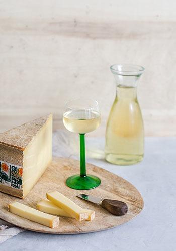 Comté & witte wijn van de Elzas