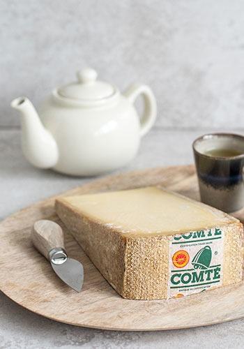 Comté & warme thee