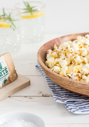 Popcorn salés au Comté