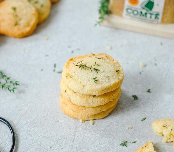 Biscuits salés au Comté